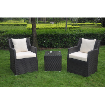 Outdoor PE Rattan Möbel Esstisch Set