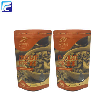 Eco-friendly Kraft Paper Powder Food Packaging Bags