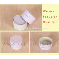 Fancy lid and tray round shaped wholesale jewelry box