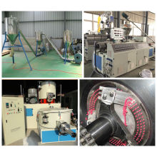 PVC Granulating Extruder Machine with CE and ISO9001 Certification