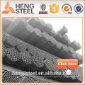 Tianjin noir MS Pipe acier