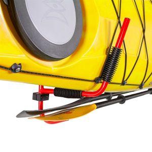 Wall Mounted Kayak Storage Rack Foldable