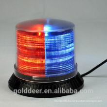 Policía de rojo/azul luz estroboscópica baliza luces para carro