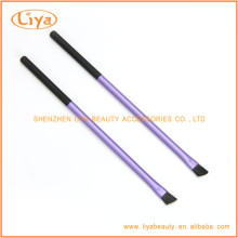 Professinal angled eyebrow brush with customized color and logo