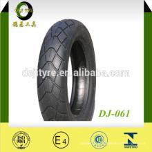 Meilleur vendeur Chine moto pneu motif populaire