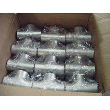 JIS 304/316L Stainless Steel Welded Equal Tee