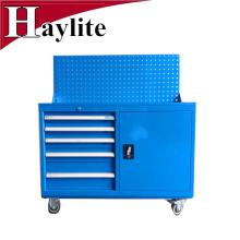Haylite Best metal rodante pequeño carrito de herramientas con ruedas