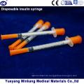 Einweg-1-cc-Insulinspritzen 0,5-cc-Insulinspritzen 0,3-cc-Insulinspritzen (ENK-YDS-046)