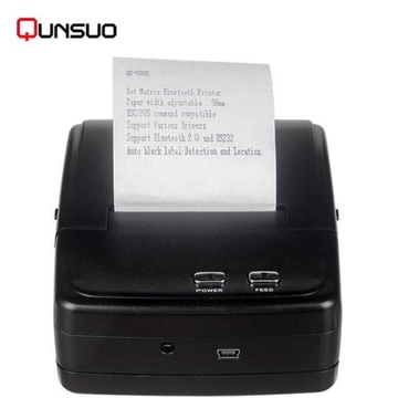 Ketua 2 inci Wireless Bluetooth dot matrix printer printer