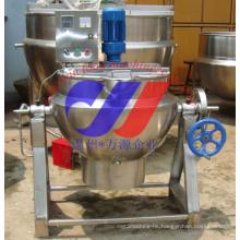 Gas Heating Layered Pot Can Tilting