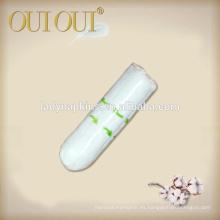 Tapones orgánicos disponibles al por mayor del fabricante de China para las mujeres