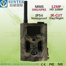 Câmera sem fio da fuga 12MP com SMTP do MMS GPRS do sensor de movimento