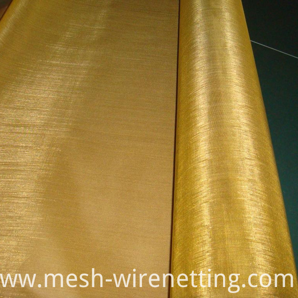 Brass Alloy Wire Mesh
