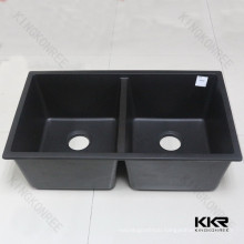 home use undermount kitchen countertop black sink