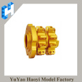CNC precision lathe machined brass parts