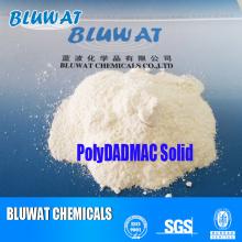 Solid Polydadmac Powder (chlorure de poly diallyl diméthylammonium)