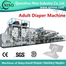 Proveedor de máquina de pañal adulto de alta velocidad totalmente automática (CNK300-SV)