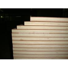 Peuplier / bois dur / contreplaqué de base de Brich, contreplaqué sandwich, contreplaqué commercial