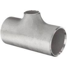 T de reducción de acero inoxidable Bw