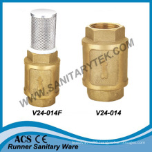 Brass Spring Check Valve (V24-014)
