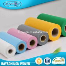 Têxteis processados 100% não tecidos Spunbond de polipropileno acessível do tecido