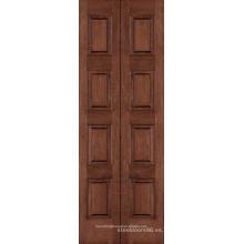 Puertas de madera de costo plegable