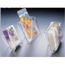 Titular de exibição caixa de acrílico com tampa de lábio