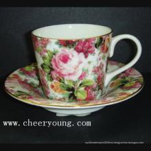Taza de café de porcelana China (CY-B511A)