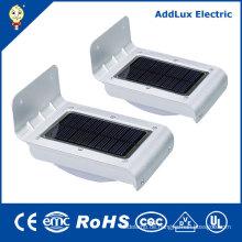 CE UL 2W Warmweiß LED Solar Power Street Light