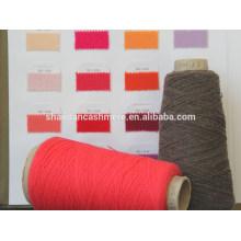 hilado grueso de la fábrica de la buena calidad hilo de lana merino del 100% para hacer punto y para tejer