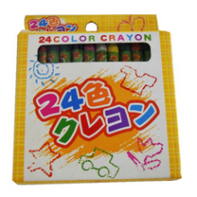 clear art and craft wax crayon multi color crayon