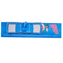 Fregona suave de la microfibra del limpiador del piso de la manija plegable suave del hogar 44 * 14