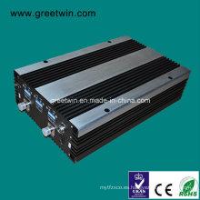 27dBm GSM850 + PCS1900 + Aws1700 amplificador de banda tripla del amplificador de la célula del repetidor de la venda (GW-27CPA)