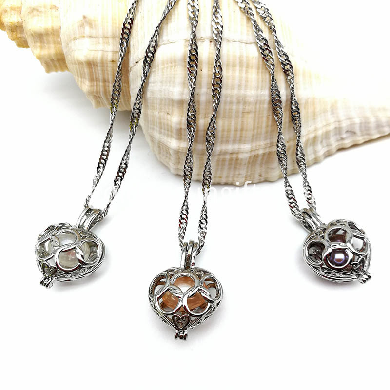 Locket Pendant Necklace