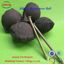 Силикомарганец шарик / шарик марганца кремния /кремний Марганец брикет