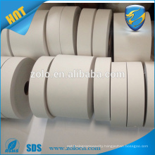 Cheap self printing strong adhesive custom size mini 50 m blank destructible vinyl eggshell sticker rolls