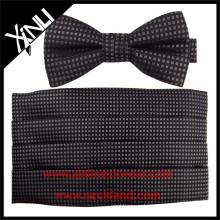 Небольшие геометрические на заказ пояс и бант галстук комплект