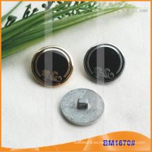 Botón de aleación de zinc y botón de metal y botón de costura de metal BM1670