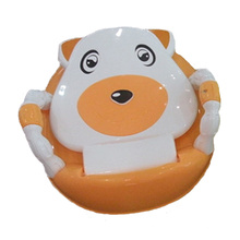Lovely Plastic Baby Potty Seat with Armrest (TS-1602)