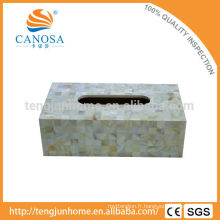Trade Assurance porte-boîte rectangulaire en papier à coques d'eau douce
