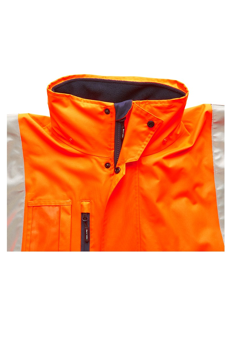 Jacket Prepared for All Weather