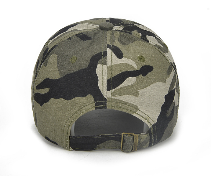 Camo Printing Golf Cap Back
