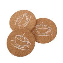FQ marca atacado personalizado placa café madeira cozinha coaster