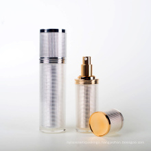 Plastic Acrylic Cylinder Lotion Bottle (EF-L24)