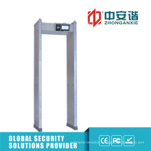 255 Level Multi-Alarm Door Frame Metal Detector with Self Diagnostic function