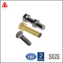 Изготовленный на заказ низкое цена высокое качество 4.8 стальной болт hex