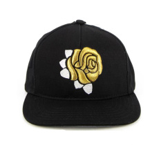 Korean Style Floral Print Snapback Cap