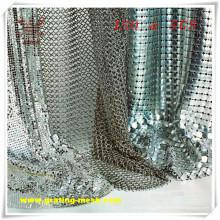 Alliage d'aluminium / maille de rideau en métal pour décoratif (ISO)