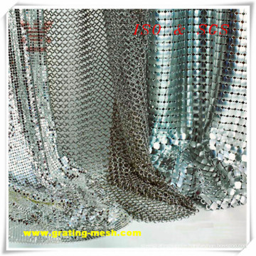 Aluminum Alloy/ Metal Curtain Mesh for Decorative (ISO)
