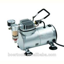 Миниый компрессор воздуха с фильтром